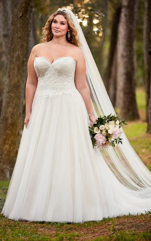 Traumhafte Plus Size Brautkleider Fur Mollige Braut Mit Xxl Kurven