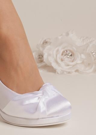 newest 8d72d a76e0 Brautschuhe, bequeme Hochzeitsschuhe flach, hoch oder niedrig