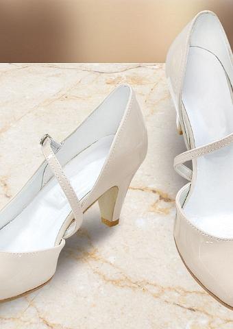 newest 3ae7c f9e98 Brautschuhe, bequeme Hochzeitsschuhe flach, hoch oder niedrig