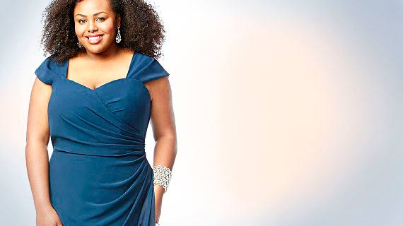 8812bd2a96d6d3 Traumhaft schöne festliche Abendkleider in XXL für übergewichtige Damen.