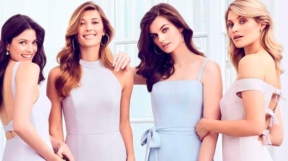 98da85ebe5e147 Trend von Abendmoden für die Trauzeugin. Die neuesten, trendigsten,  aktuellsten Abendkleider der Welt